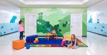 طراحی مهد کودک | جذاب ترین ایده ها برای کودکان