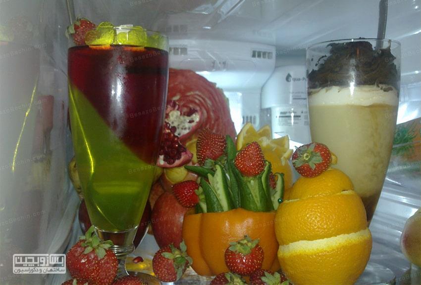 تزیین یخچال عروس با سادهترین روش