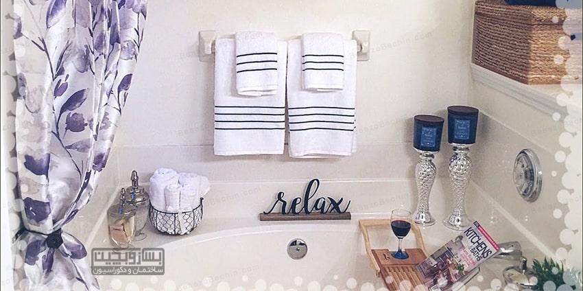 دکور حمام خانه عروس