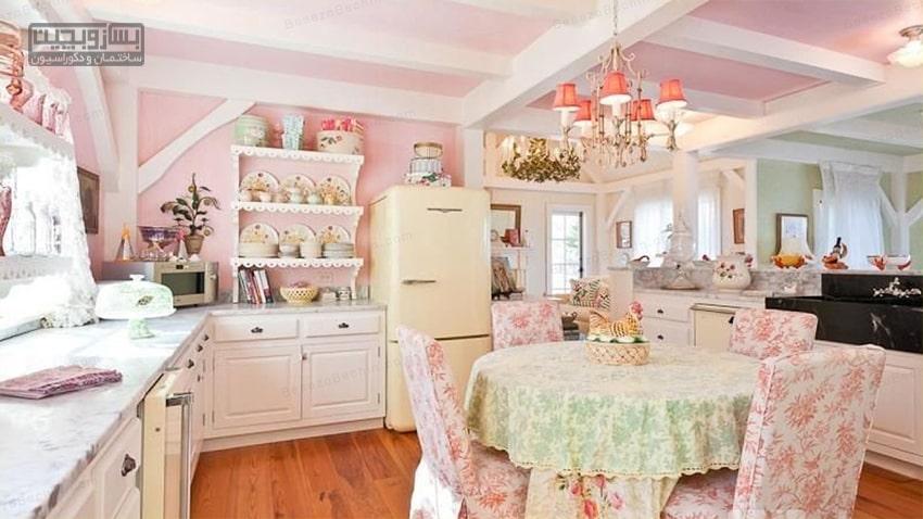 چیدمان آشپزخانه عروس 2020