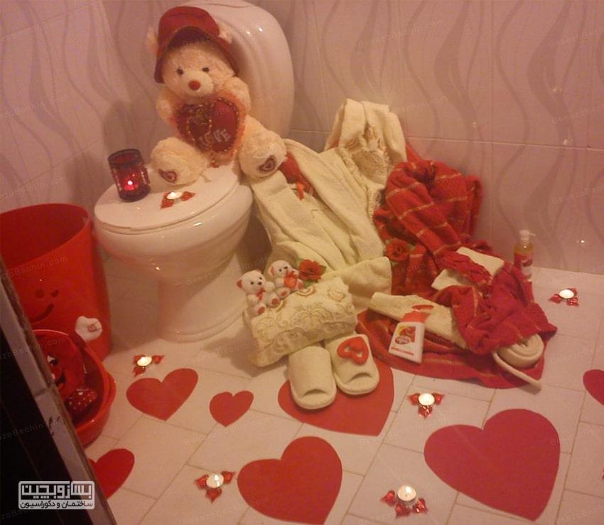 دکور حمام خانه عروس یک