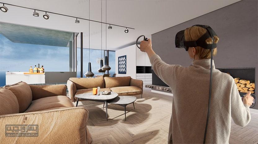 واقعیت مجازی تکنولوژی در معماری 2020