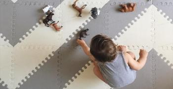 زیباترین مدل های فرش اتاق کودک 2021