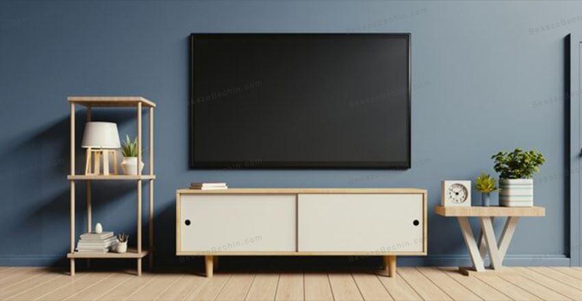 میز تلویزیون چوبی و مدرن جدید و شیک [2021 - 99]