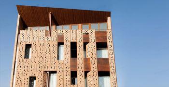 نمای بیرونی ساختمان ایرانی جدید 2021