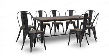 میز ناهار خوری تاشو فلزی - ناهار خوری فلزی جدید 2021
