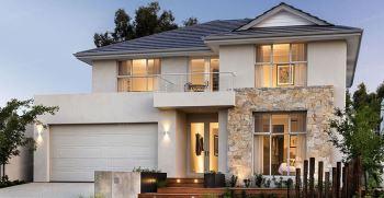 نمای سنگ ساختمان دو طبقه [نمای سنگ جدید مناسب ساختمان دوطبقه]