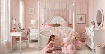 مدلهای فانتزی و جدید تخت خواب قصری و پرنسسی دخترانه 2021