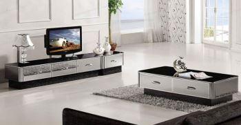 انواع مدل میز تلویزیون آینه ای (میز تلویزیون اینه کاری شده)