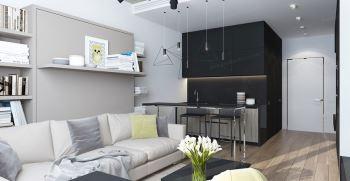دکوراسیون خانه های 40 متری - دکوراسیون منزل 40 متری شیک