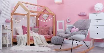 دکوراسیون اتاق خواب دخترانه هنری (ساده و شیک) جدید 2021