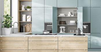 روش های تغییر دکوراسیون آشپزخانه با کمترین هزینه + عکس