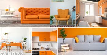 همه چیز درباره دکوراسیون رنگ نارنجی + جدیدترین مدل ها