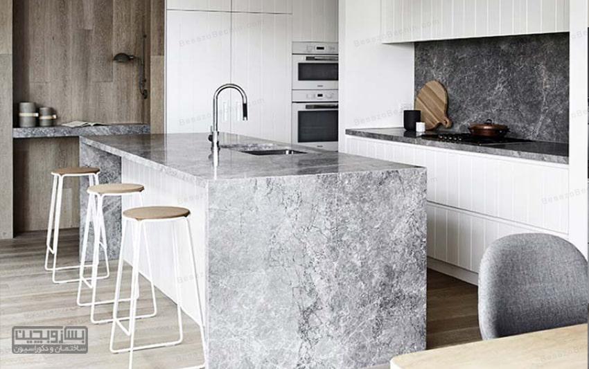 شیک ترین و بهترین صفحه کابینت آشپزخانه