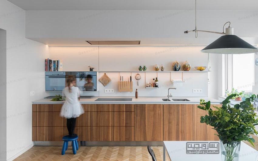 شیک ترین و جدیدترین صفحه کابینت آشپزخانه
