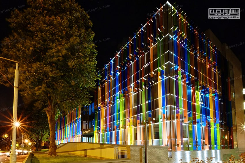 نورپردازی در نما ساختمان