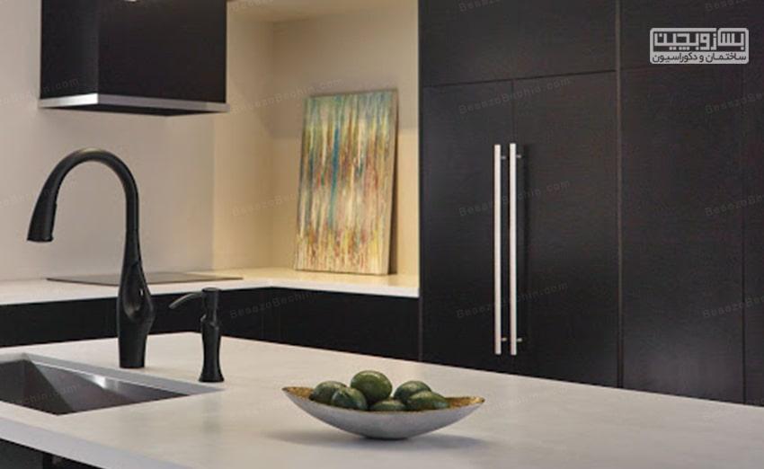 نورپردازی صفحه کابینت آشپزخانه