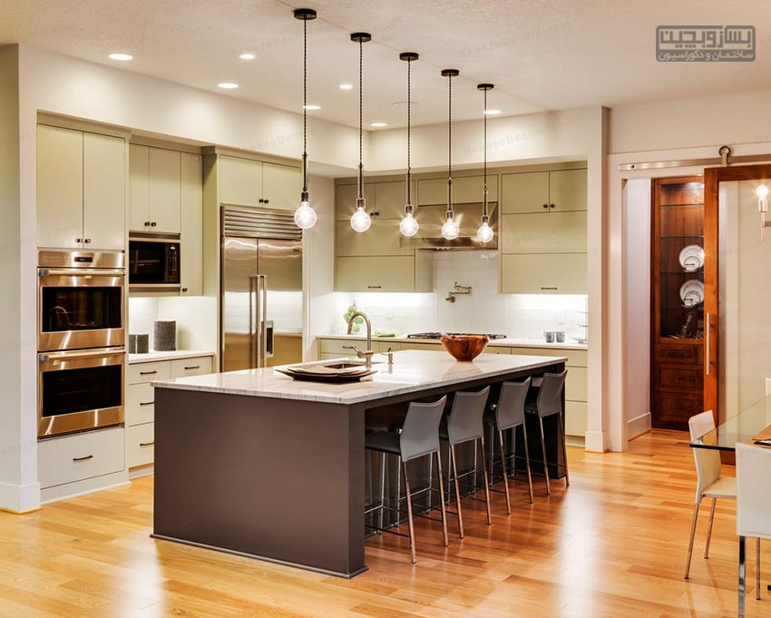 طراحی نورپردازی آشپزخانه 2020