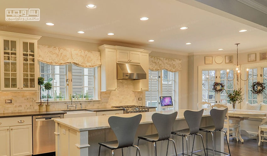 نورپردازی اصولی آشپزخانه