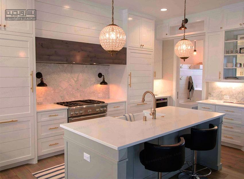 جذاب ترین نورپردازی آشپزخانه