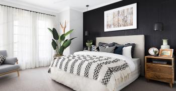 8 ایده جذاب و ساده برای دکور بالای تخت خواب + تصاویر