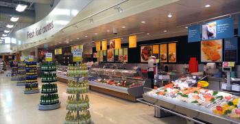 طراحی دکوراسیون سوپرمارکت + 20 مدل لوکس و کاربردی