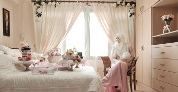 دکوراسیون و دیزاین اتاق خواب عروس + تصاویر
