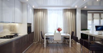 پردهای فانتزی اشپزخانه + جدیدترین مدل های پرده های فانتزی آشپزخانه