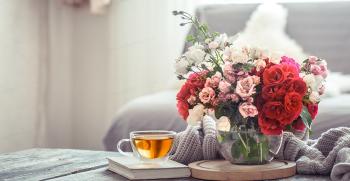 بهترین انواع گلهای آپارتمانی + تصاویر