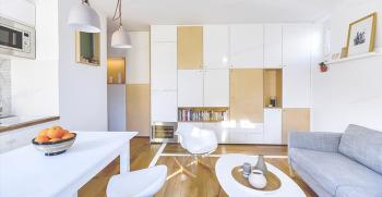 بهترین دیزاین دکوراسیون برای خانه 50 متری شما [دکوراسیون خانه های کوچک]