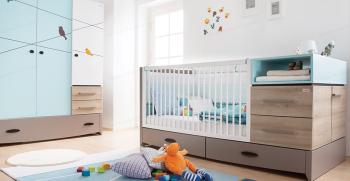 طرح ها و مدل های شیک و جدید سرویس خواب نوزاد  + تصاویر