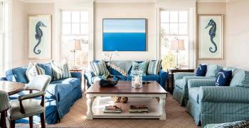 7 ویژگی سبک ساحلی در دکوراسیون داخلی + انواع آن