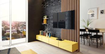 شیک ترین مدل میز تلویزیون دیواری ساده و شیک 2021