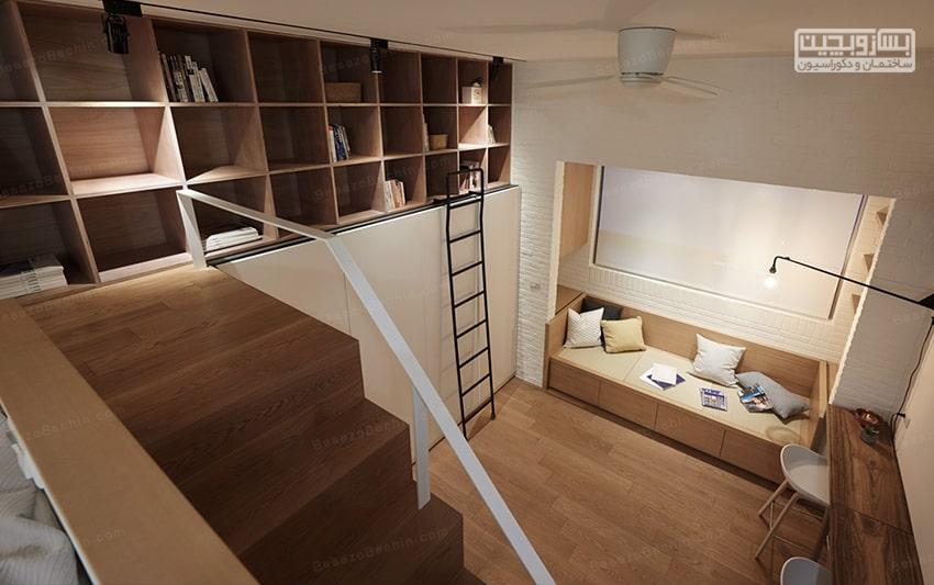 طراحی داخلی اتاق خواب کوچک پسرانه و دخترانه جدید