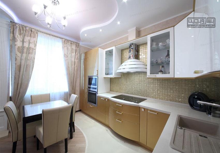 سقف کاذب آشپزخانه pvc