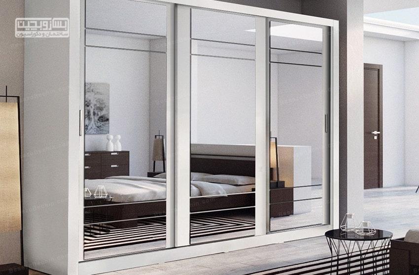 کمد دیواری اتاق خواب کوچک