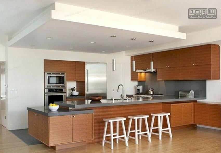 مدل کنافاپنآشپزخانه شیک
