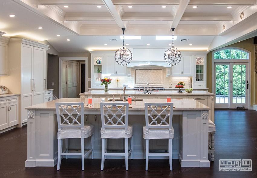 مدل گچبری سقف آشپزخانه