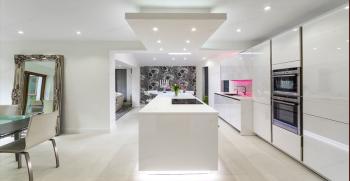 معرفی انواع مدل کناف سقف آشپزخانه جدید 2020