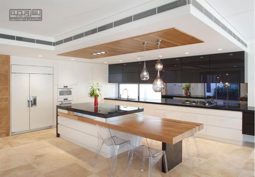 مدل سقف کناف آشپزخانه