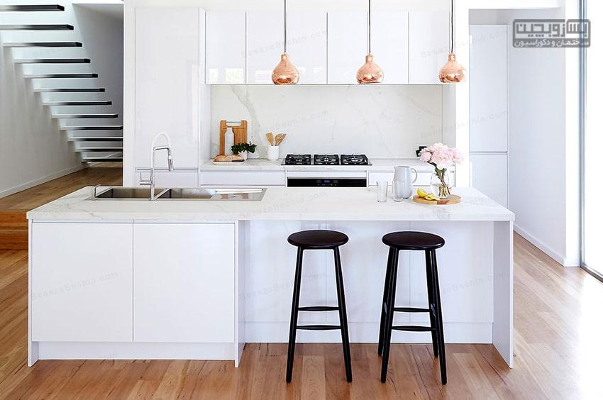 کابینت آشپزخانه کوچک هایگلاس
