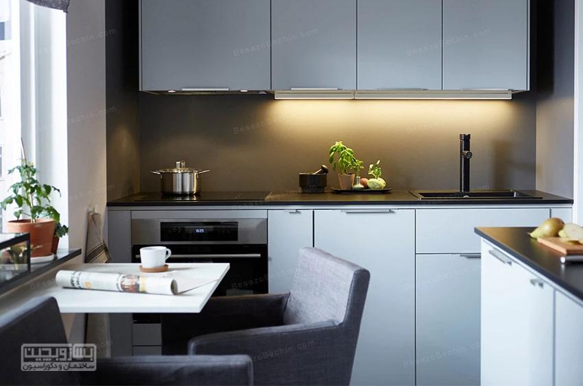 مدل کابینت آشپزخانه کوچک 2020