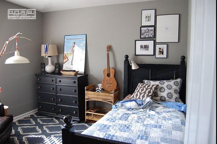 اتاق خواب پسرانه جوان