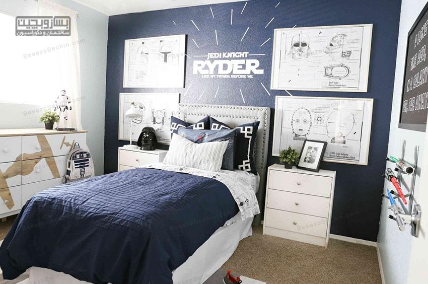 اتاق خواب پسرانهفوتبالی
