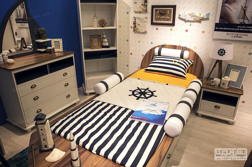 اتاق خواب پسرانهشیک