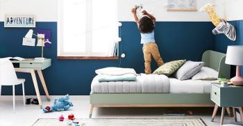 دکوراسیون اتاق خواب پسرانه شیک [2021] + ساده، فوتبالی، دونفره
