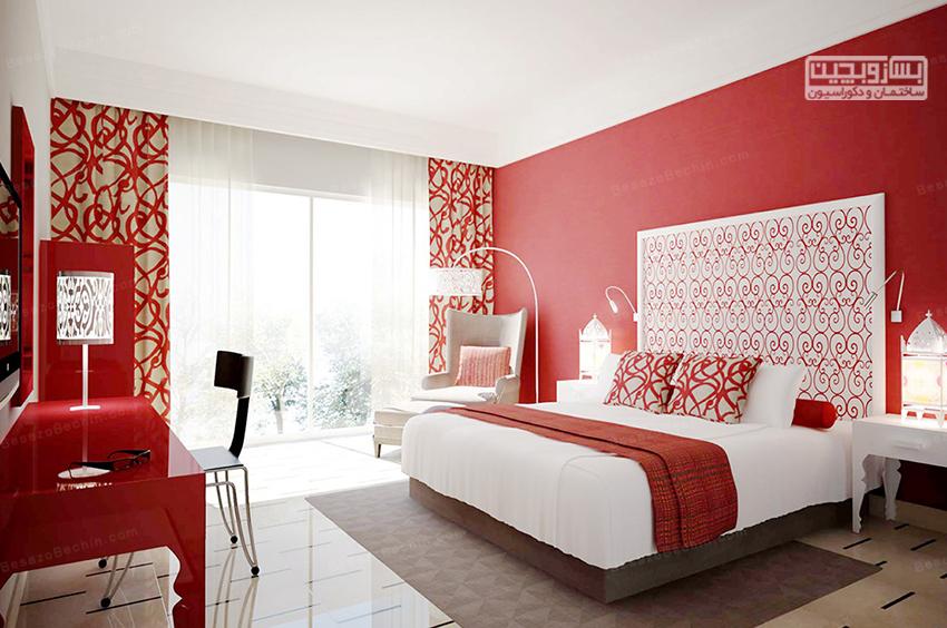 بهترین رنگ اتاق خواب عروس
