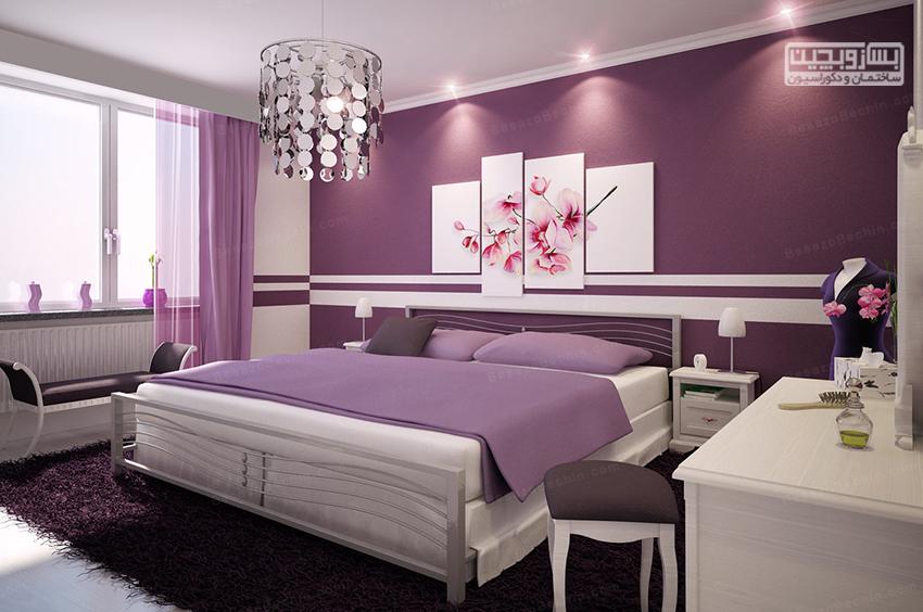 بهترین رنگ برای اتاق خواب عروس و داماد