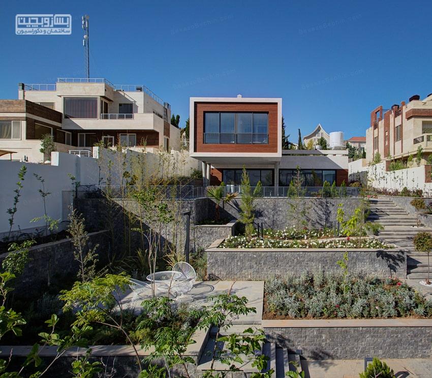 خانه دوبلکس کوچک ایرانی