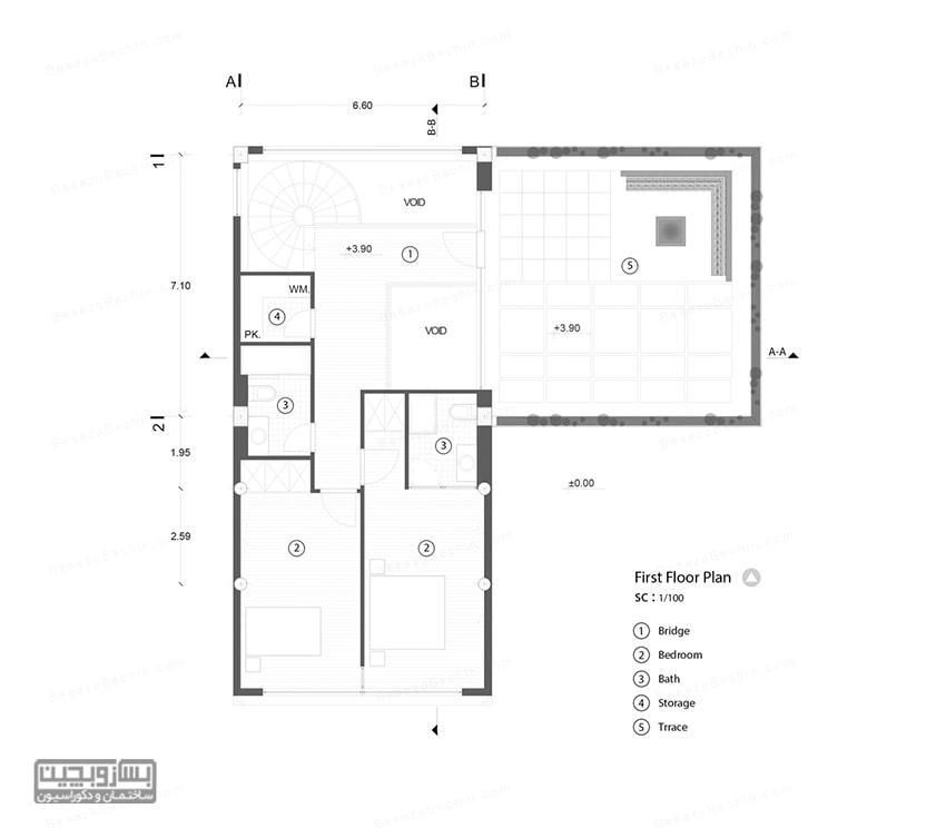 نقشه ویلاباغ